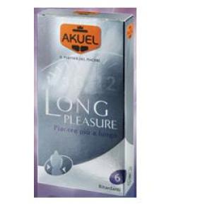 akuel long pleasure 6 pezzi