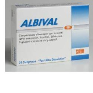 albival probiotico 24 compresse