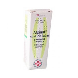 alginor adulti os gocce 30ml 50mg/ml