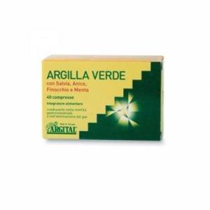 Argilla verde 80 compresse