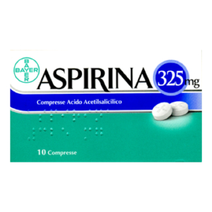 Aspirina 10 compresse 325mg