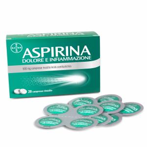 Aspirina dolore inf 20cpr500mg