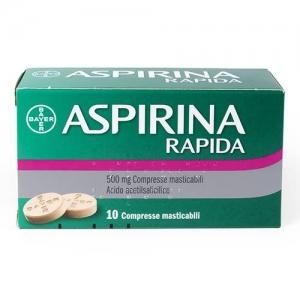 Cerca Offerte di aspirina rapida 10cprmast500mg e acquista online