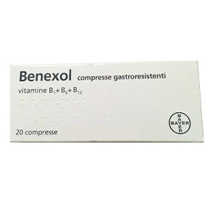 benexol 20 compresse gastroresistenti fl