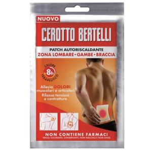 Bertelli patch autoriscaldante