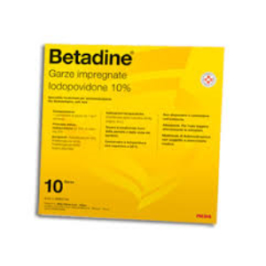Trova Offerte di betadine 10garze impregn 10x10 e compra online