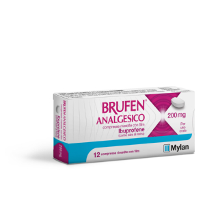 Brufen analges 12 compresse rivestite 200mg