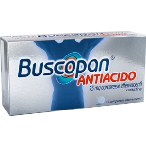 Buscopan antiac 10 compresse effervescenti 75mg