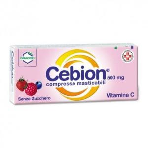 Cerca Prezzi di cebion 500 20 compresse masticabili senza zucchero e acquista online