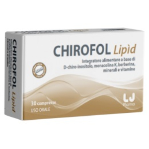 Chirofol lipid 30 compresse