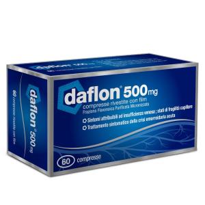 Trova Prezzi e Offerte di Daflon 60 compresse rivestite 500mg  e acquista online