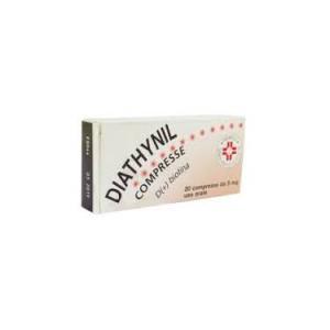 diathynil 20cpr 5mg