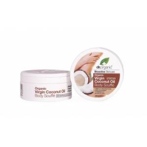 Dr organic coconut body souffl