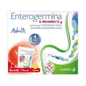 Enterogermina os 10 bustine 6 miliardi 2g