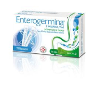 enterogermina os 20 flaconi 2mld/5ml
