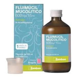 Fluimucil mucol scir600mg/15ml