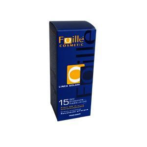 Foille solari crema solare spf15