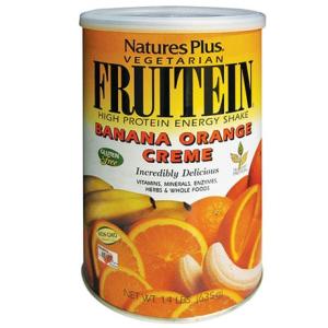 Fruitein banana e arancia