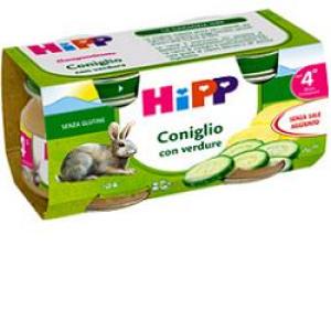 hipp omog coniglio 80g 2 pezzi