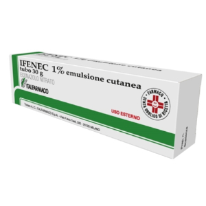 ifenec emulsione cutanea 30g 1%