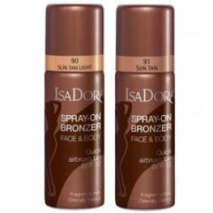 isadora spray on bronzer n90