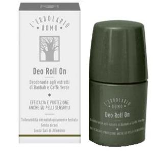 L'erbolario uomo deodorante rollon 50ml