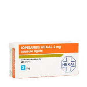 Loperamide hexal 8 capsule 2mg