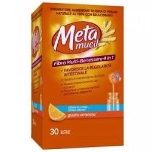 metamucil arancia 30 bustine
