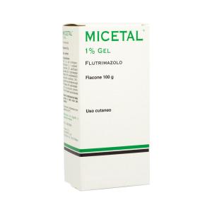 micetal gel cutanea fl 100g 1%