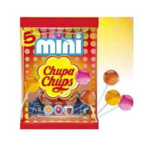 mini chupa chups 5 pezzi