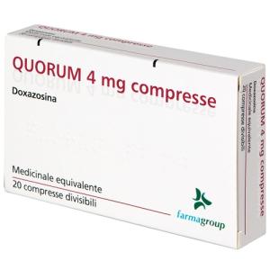 Cerca Offerte di quorum 20 compresse div 4mg e acquista online