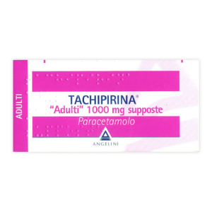 Tachipirina ad 10 supposte 1000mg