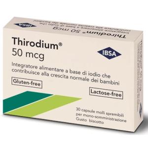 Trova Offerte di thirodium 50mcg 30 capsule spremib e compra online