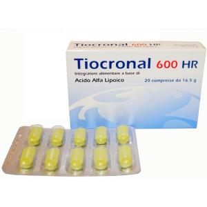 Tiocronal 600hr 20 compresse
