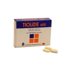 tiolide 600 30 compresse