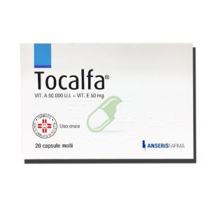 Trova Offerte di tocalfa 20 capsule molli 50000ui+50 e compra online
