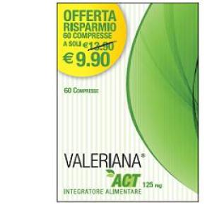 Trova Offerte di valeriana act 60 compresse e compra online