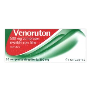 Trova Prezzi e Offerte di Venoruton 30 compresse rivestite 500mg  e acquista online