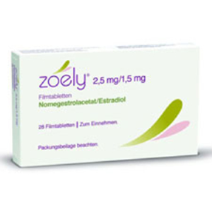 zoely 24 compresse rivestite 2,5+1,5mg+4